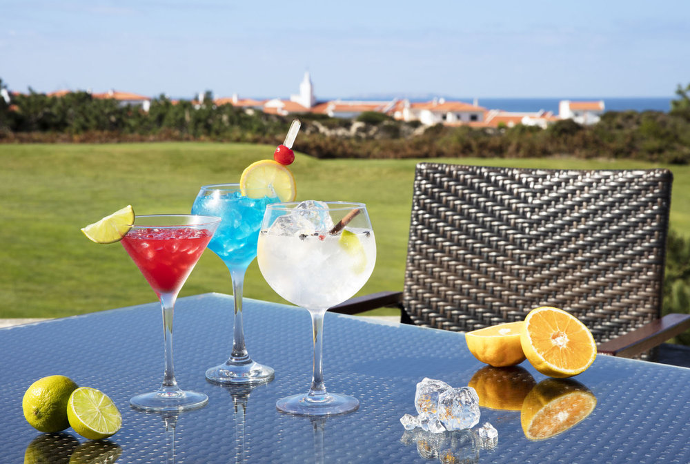 Cocktails at Praia del Rey Resort