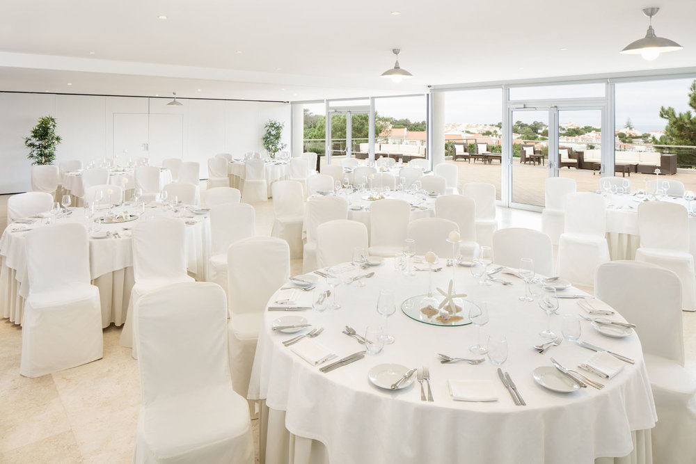 Ballroom at the Praia del Rey Resort Clubhouse
