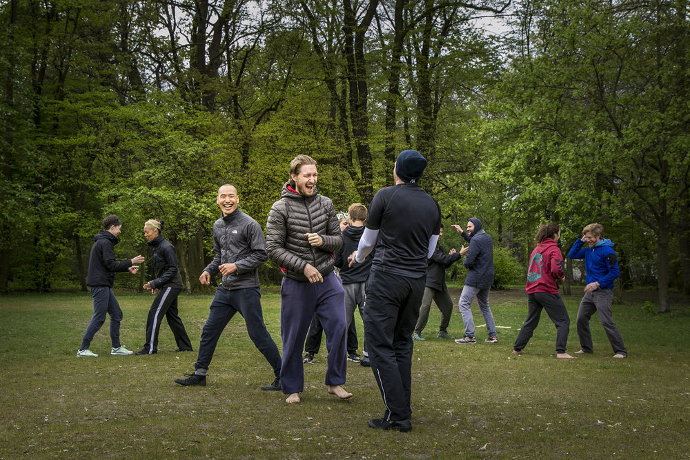 Movement Play workshop at Tempelhof Park | Berlin, Germany