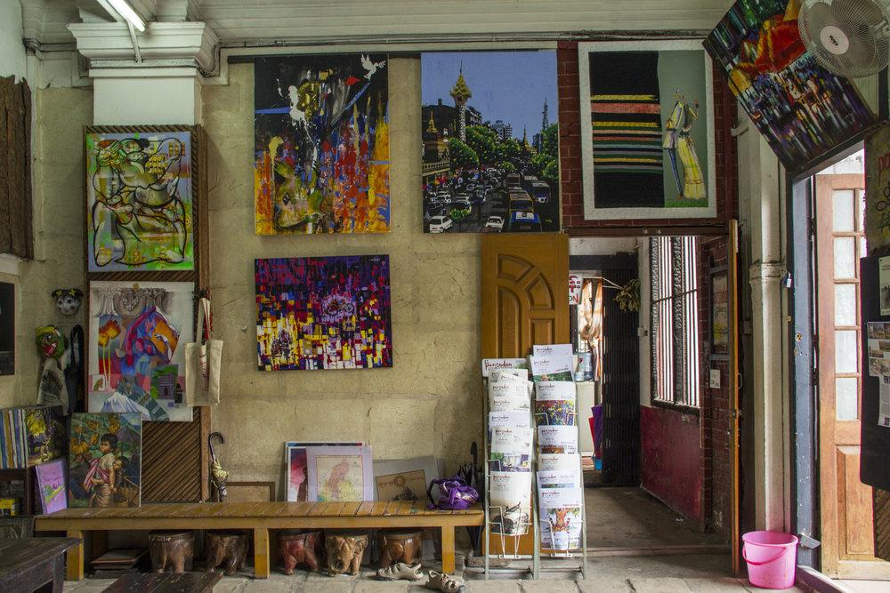 Pansodan Gallery | Yangon, Myanmar (Burma)