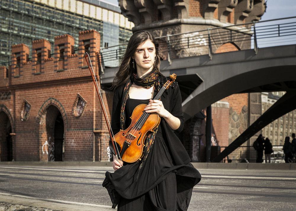 Violinist Marika Constant