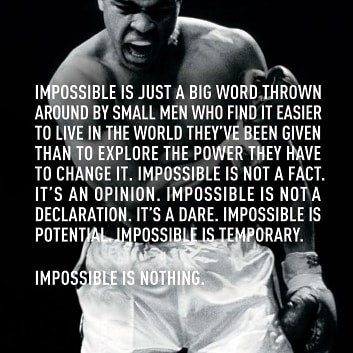 #mohammedali #impossible #life #power #powermoves