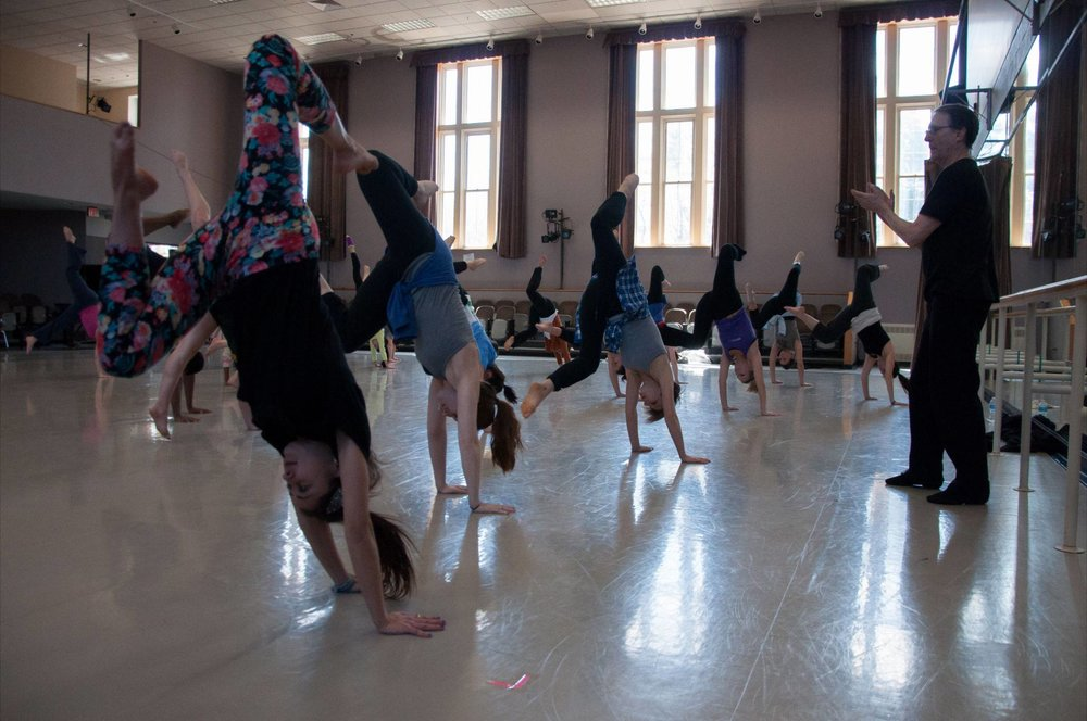 30th AnnualBill Evans Dancers Institute - July 4 – 10, 2018Hobart and William Smith Colleges, Geneva, New York