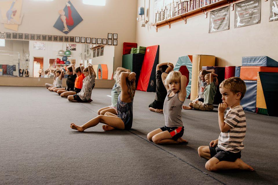 gymnastics. -