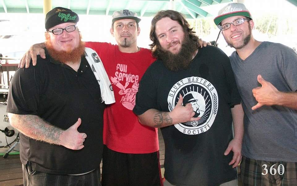 From left to right: Marcus Russel, Dan Fidele, Shaun Strong, and Jesse Bertolf