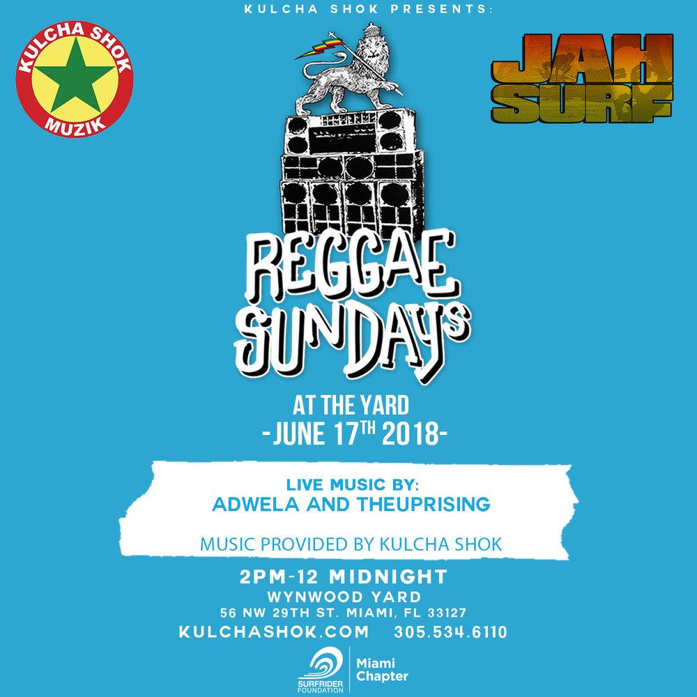 Reggae Sundays by Kulcha Shok Music | Miami, FL