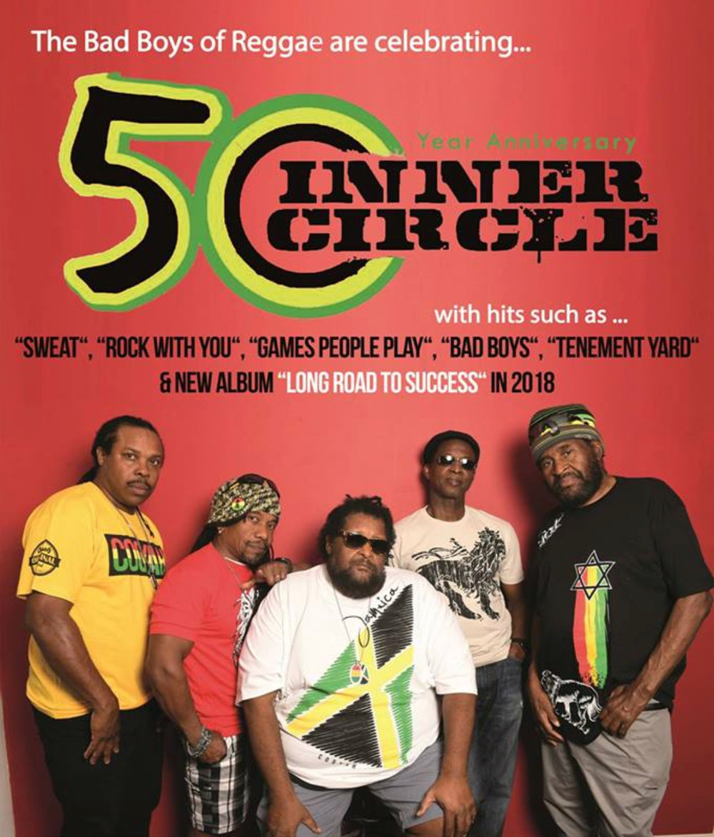 Inner Circle has been making Reggae music together for 50 Years!