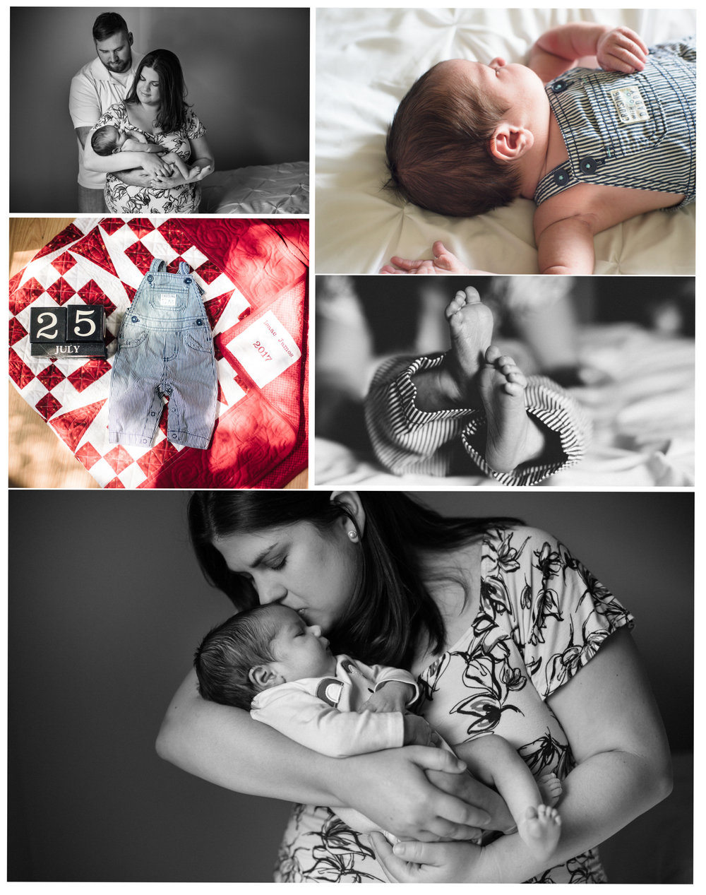 """We love our photos of Isaac, thank you so very much for coming into our home and capturing these precious moments, I will treasure these photos forever!"" Rebecca"