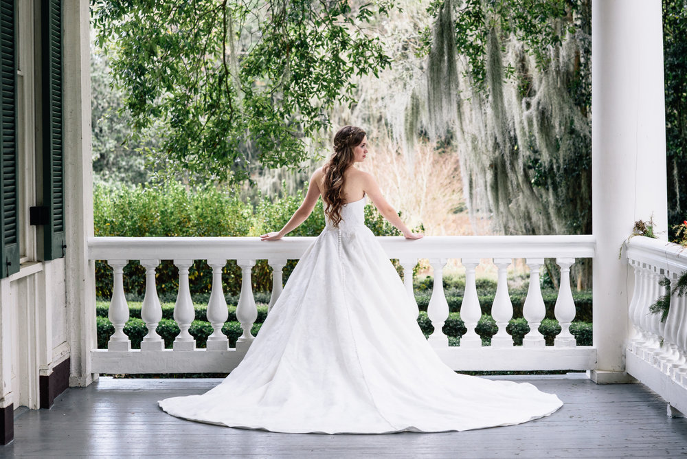 Wedding Rosedown Plantation-Bridal