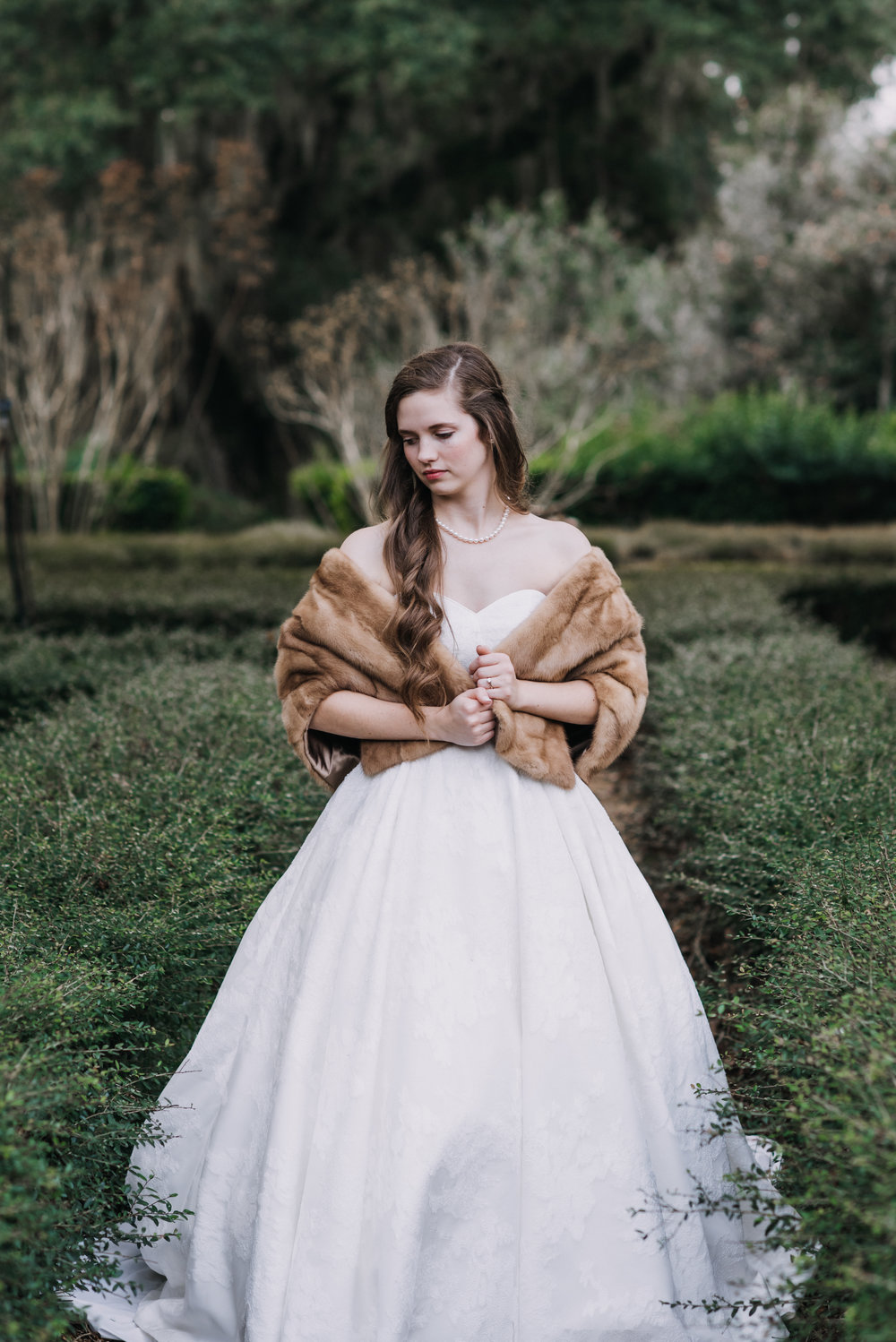 Rosedown Plantation-Bridal Portrait