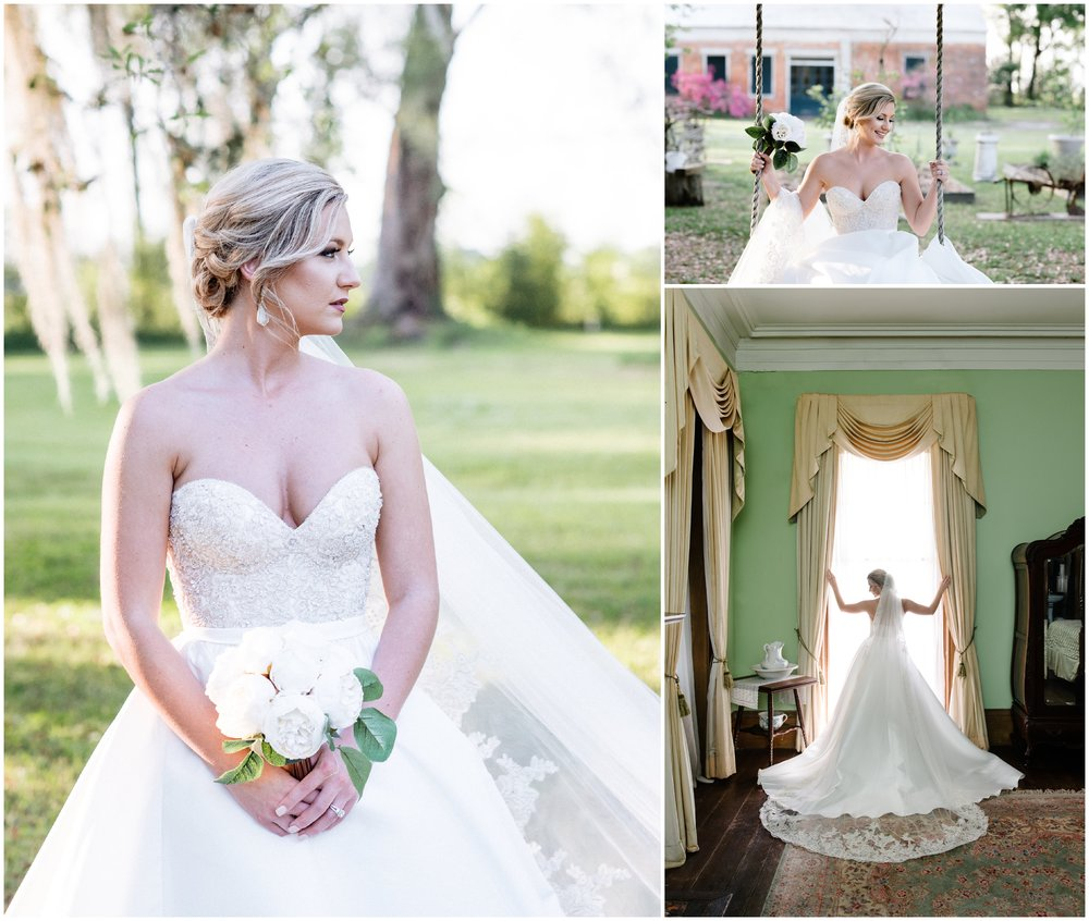 Bridals at Madewood Plantation in Napoleonville, Louisiana