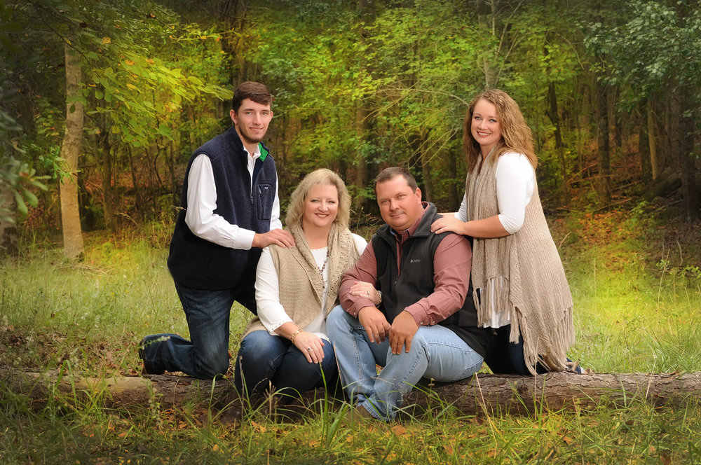Our Studio offers Senior Family Portraits in the Fall for all Seniors. Its a GREAT way to have a family portrait before the your senior leaves for college.