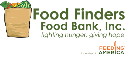 - Food Finders (FF) is a local food bank in Lafayette, IN. Each dollar donated to FF provides 3 meals to hungry and food insecure families.