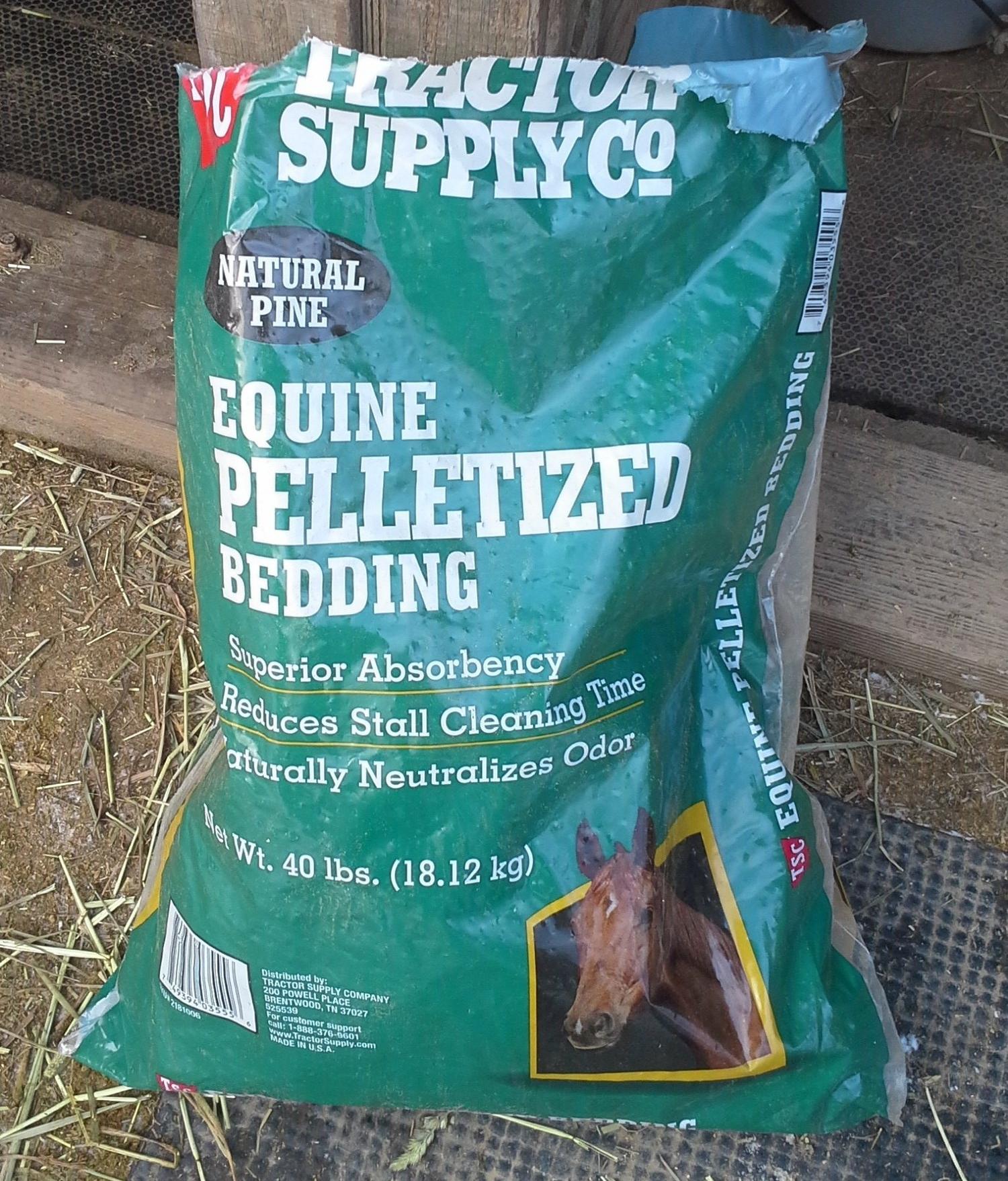 a9cc3fedf Premium Pine Shavings VS Equine Pelletized Bedding — Its A Cowgirl s Life