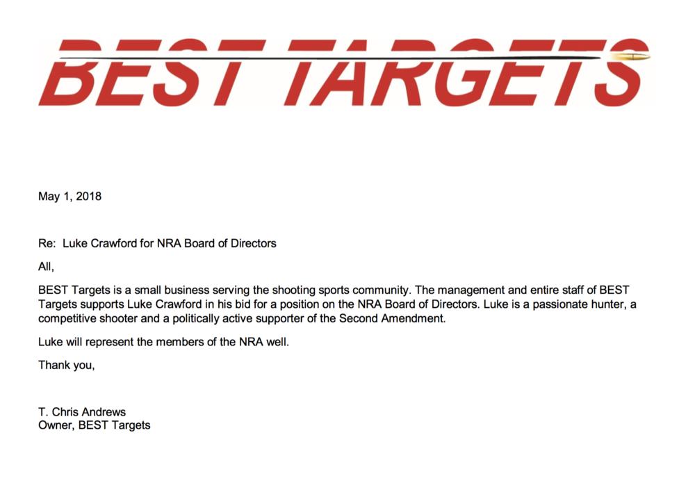 BEST Targets