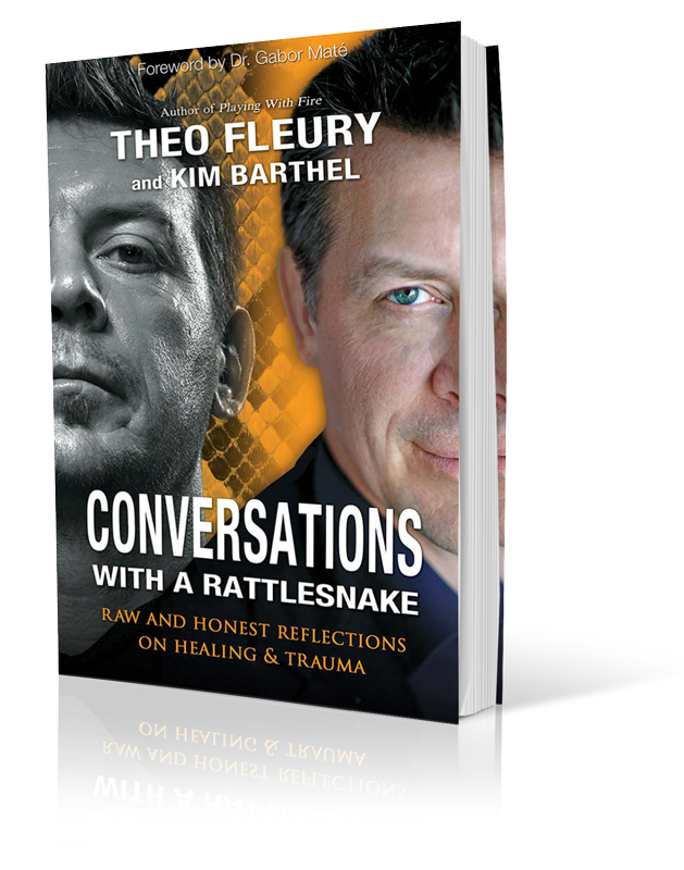 Theo Fleury Playing With Fire Book