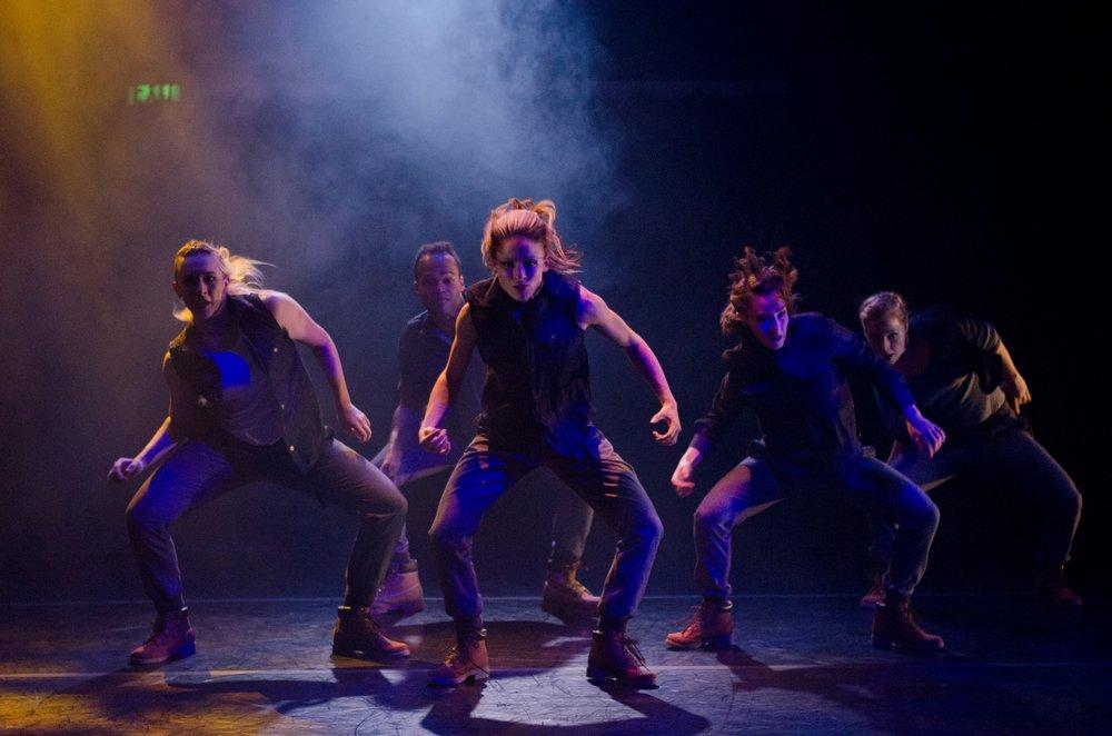 Chicago Dance Crash- NEW ALASKA   refusal of fate   DCA Storefront Theater  Steph Paul- Choreographer  2015