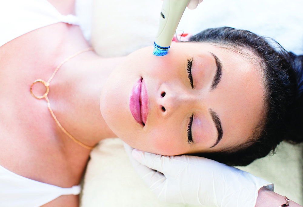 HydraFacial MD® Skin Targets: - - Fine Lines & Wrinkles- Skin Tone Evenness- Overall Complexion- Skin Texture- Hyper-pigmentation, Sun Damage, & Dark Spots- Oily & Congested Skin- Enlarged Pores- Dehydration
