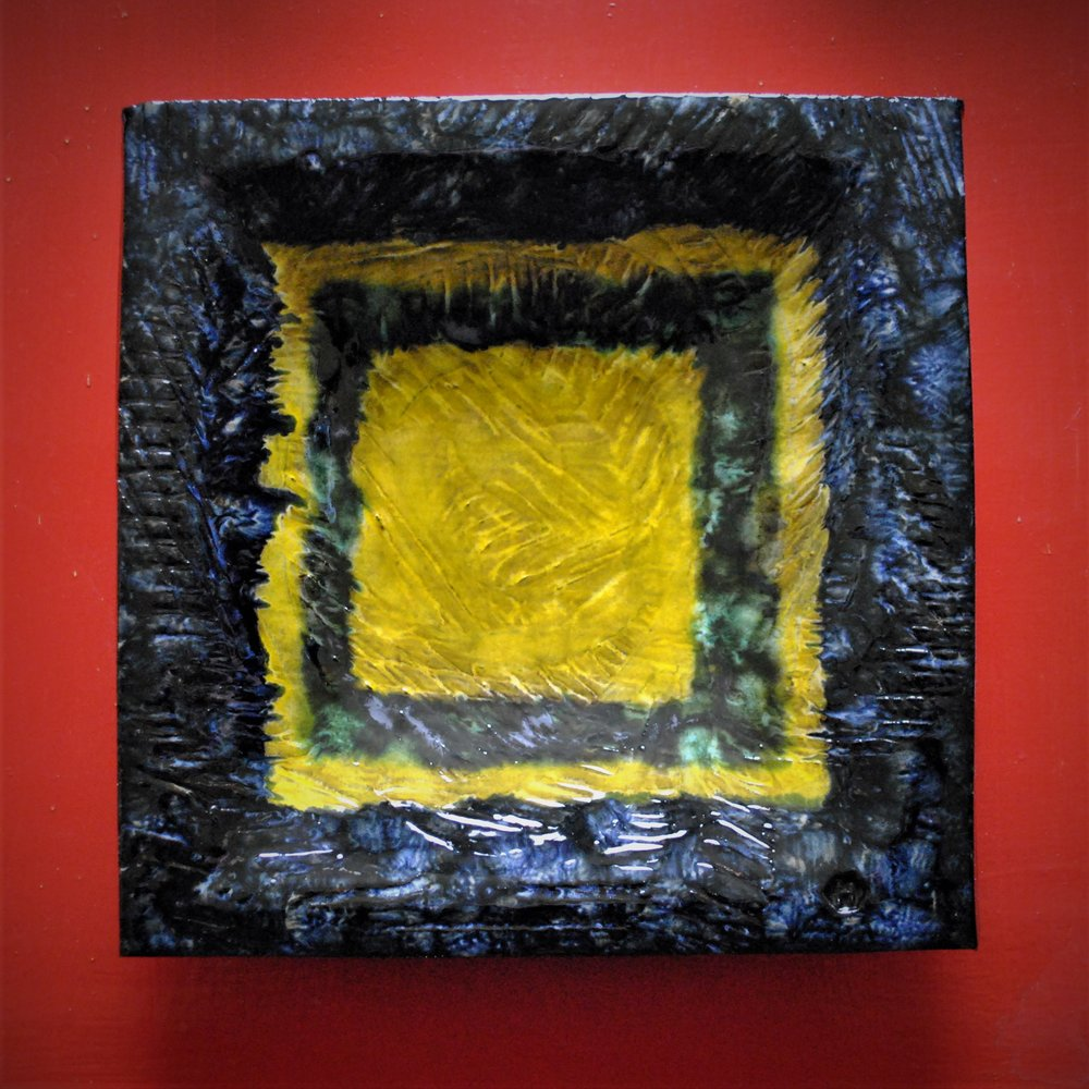 Yellow squares (2018) Dave Harper