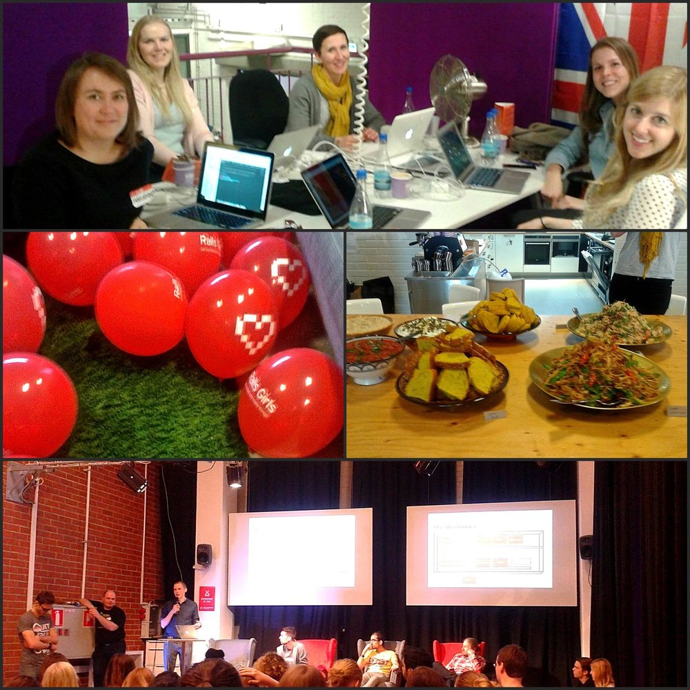 Coaching at Rails Girls in Helsinki