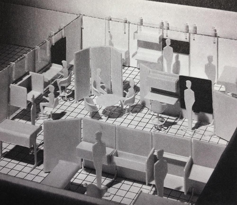 Action Office 2 Model Kit   Herman Miller, 1969
