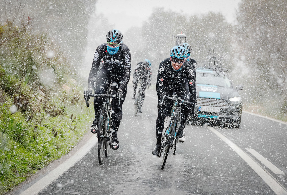 On Location with Team Sky in Mallorca