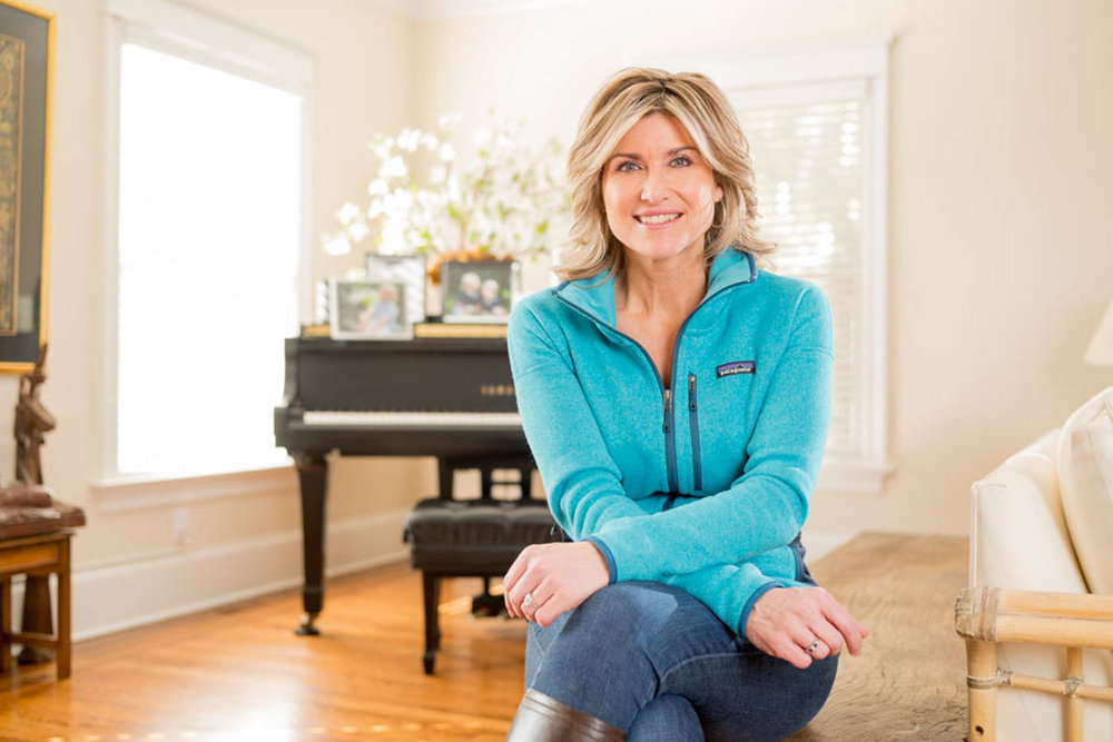 CNN Television Host Ashleigh Banfield at home in upstate New York