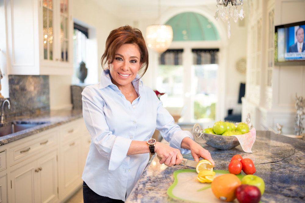 Judge Jeanine Pirro at home in upstate New York