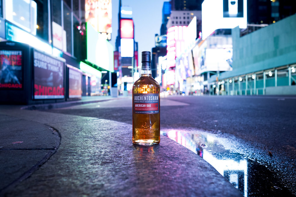 Advertising Campaign for Auchentoshan Whiskey