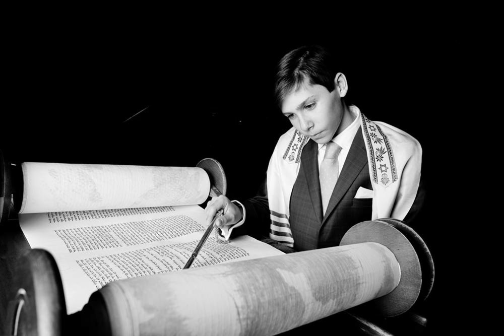 Bar Mitzvah photographed in New York City