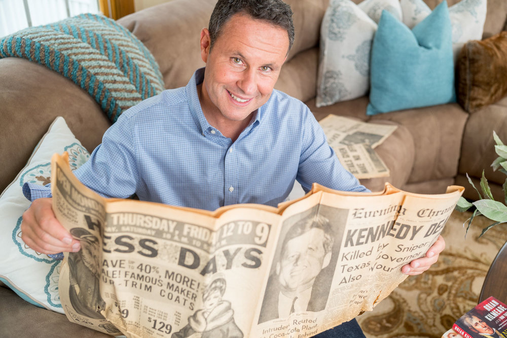 At home with Television host and Journalist Brian Kilmeade