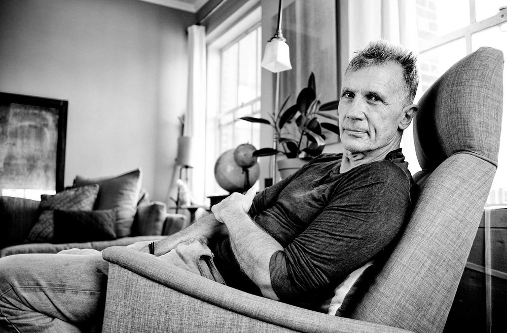 AT HOME WITH MICHAEL CUNNINGHAM -