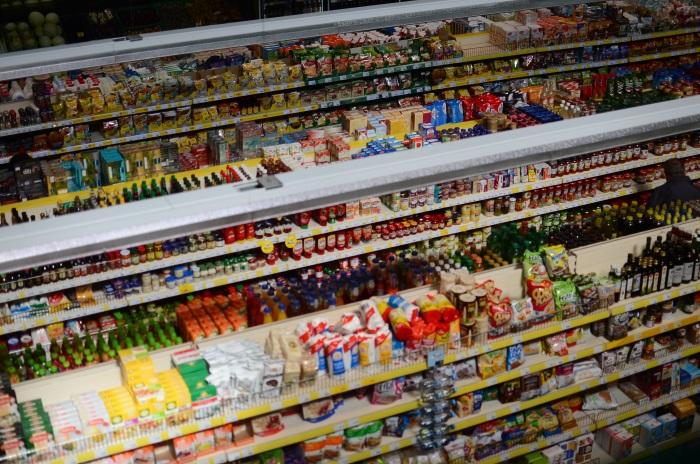 Hala Mirowska's supermarket