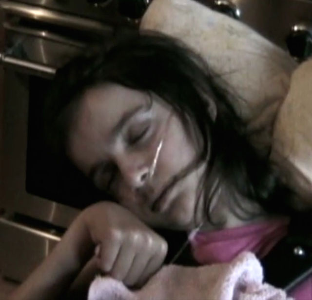 Victoria Arlen in coma