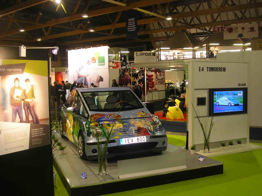 86th European Motor Show -  Our Company Ariana-ev NV/SA  with iEV 800 Join the 86th European Motor Show, Clean Move, Brussels - Belgium in January 2008