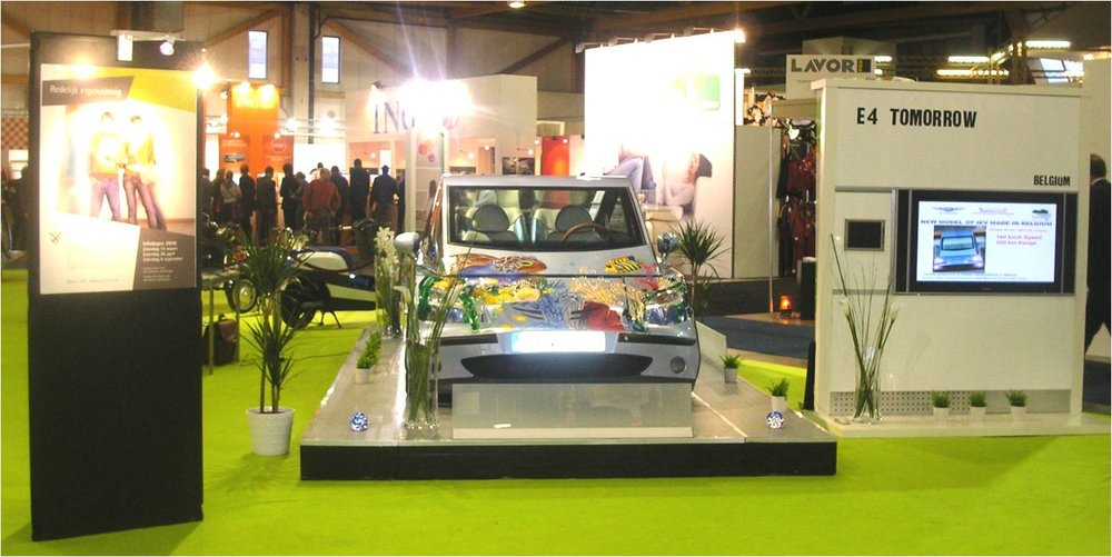 iEV 800 - Show at 86th European Motor Show.