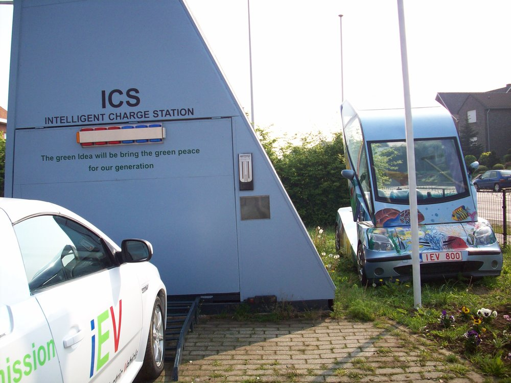 The First Intelligent Charge Statiotion - The first Intelligent Charge Station was established in Brussels-Belgium, in 2008-2009