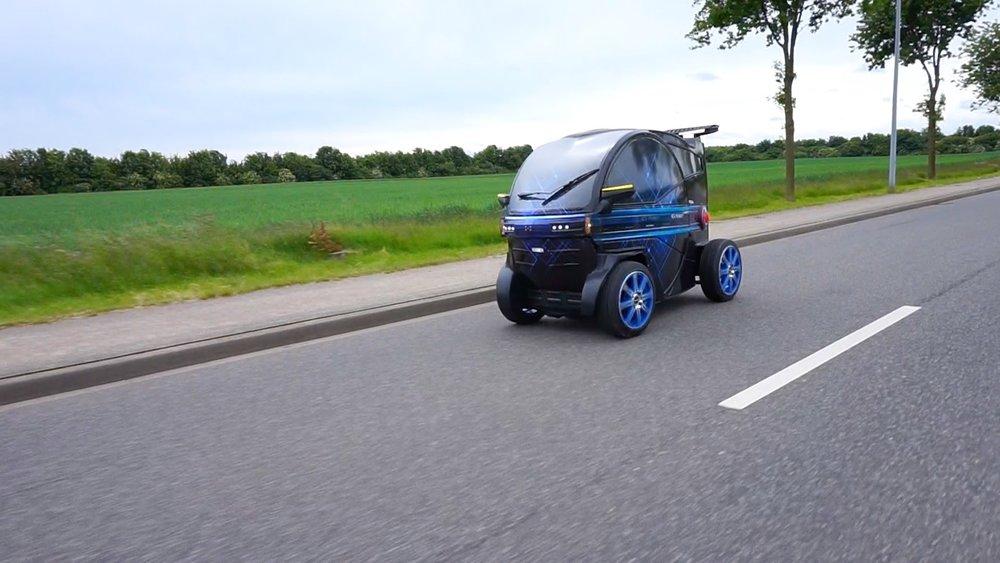 iEV XX  Test Drive  Alsdorf -