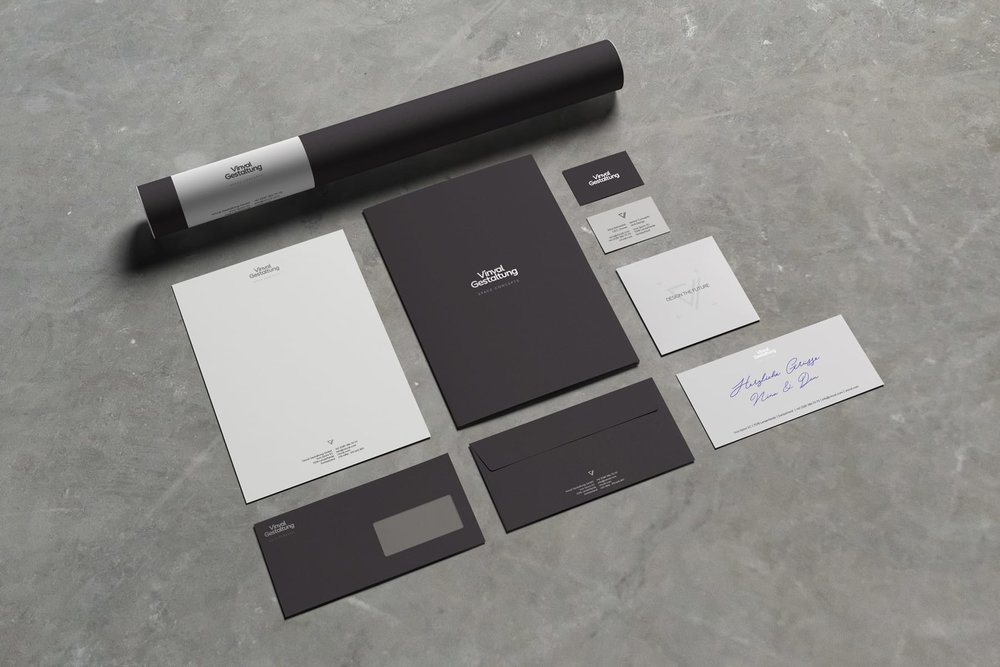 Vinvalg Gestaltung Corporate Identity Design by Firn Studio