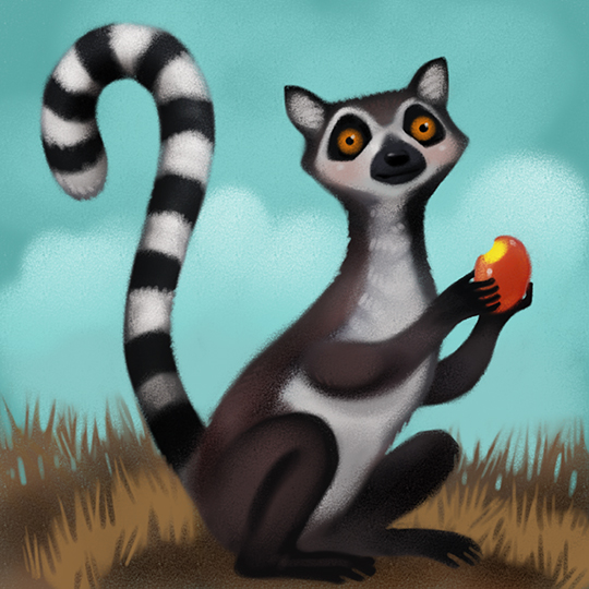 Lemurs are the main characters in Five Good Friends, a collection of stories animated in ASL