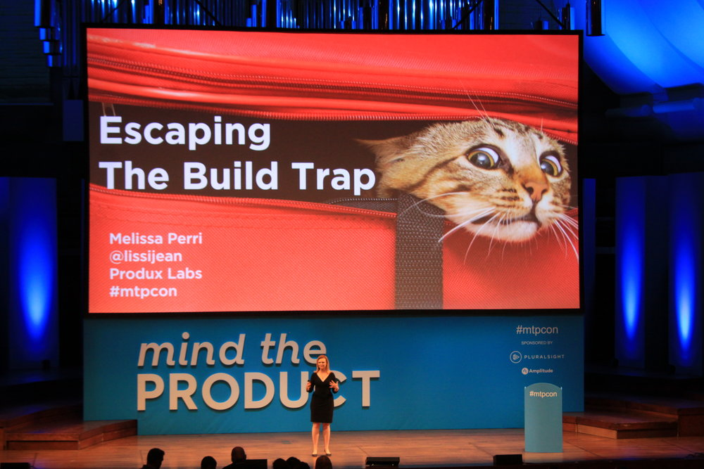 The build trap - This is my signature Keynote talk, and is based on my upcoming book. There are two versions, tailored for two different crowds: Agile Software Development and Product Management.