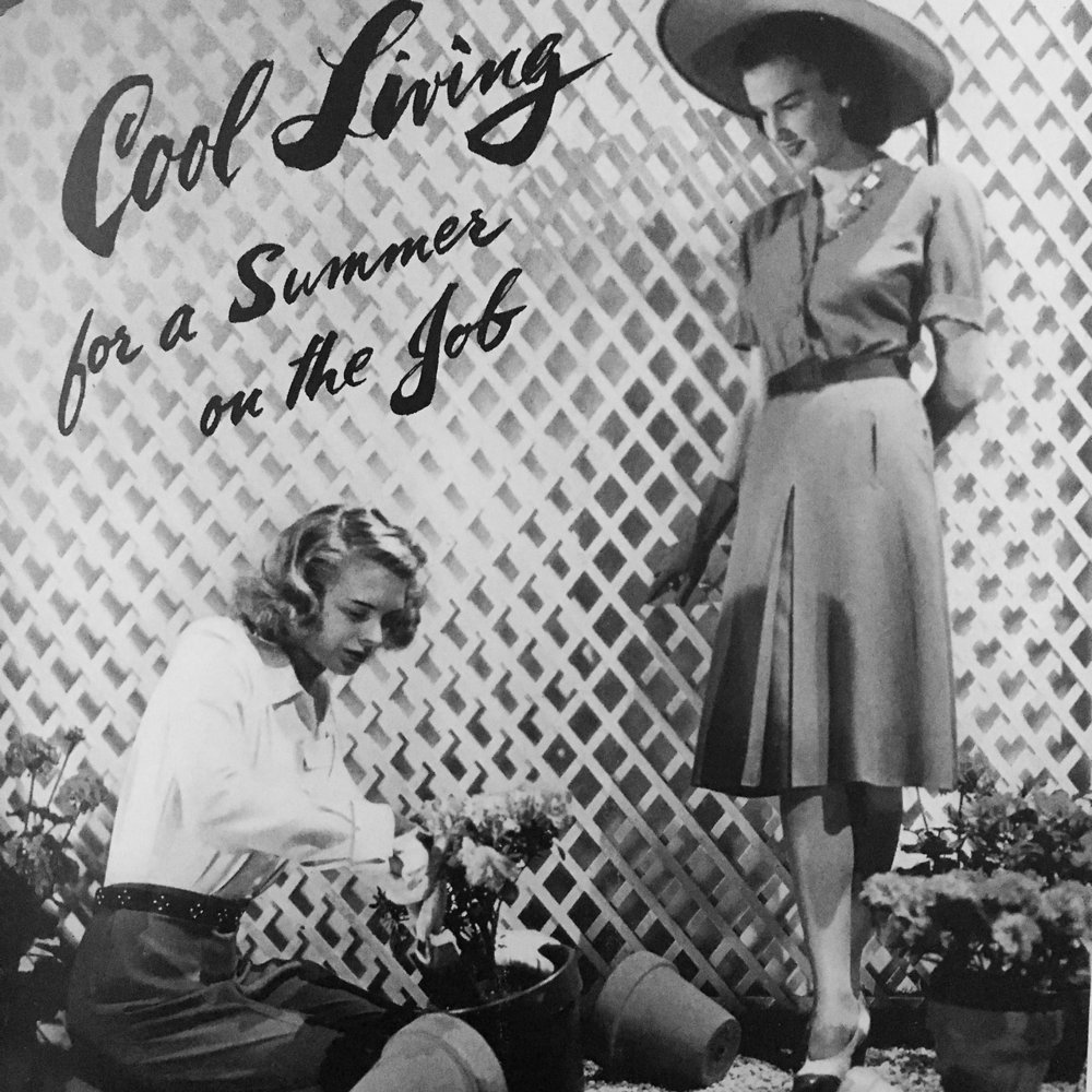 Cool Living for a Summer on the Job. Vogue. August. 1942.