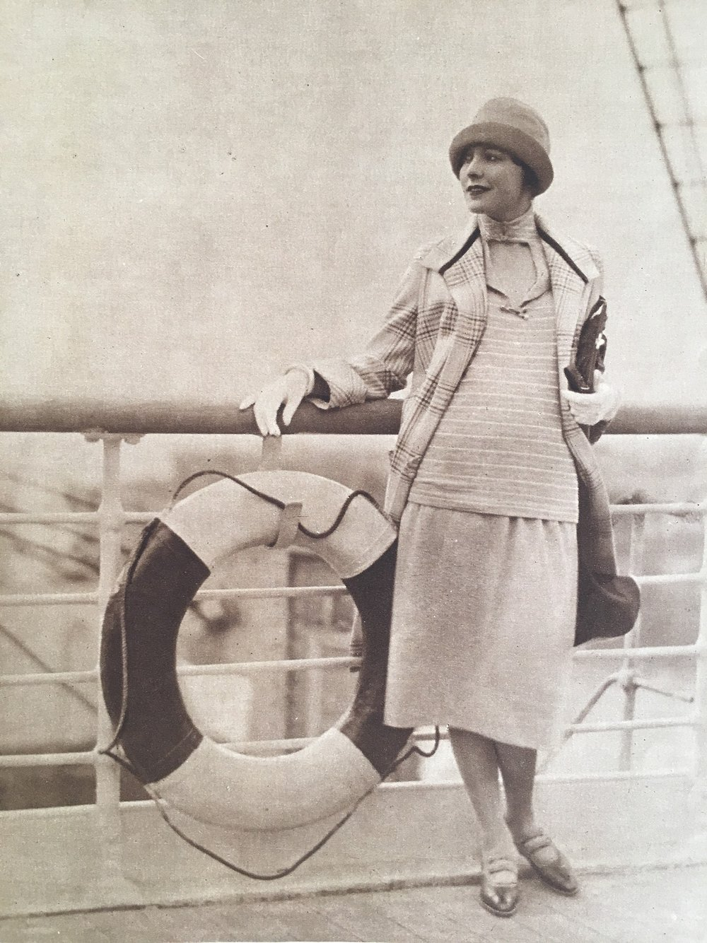 """Bon Voyage!"" Woman's Home Companion. July 1925."