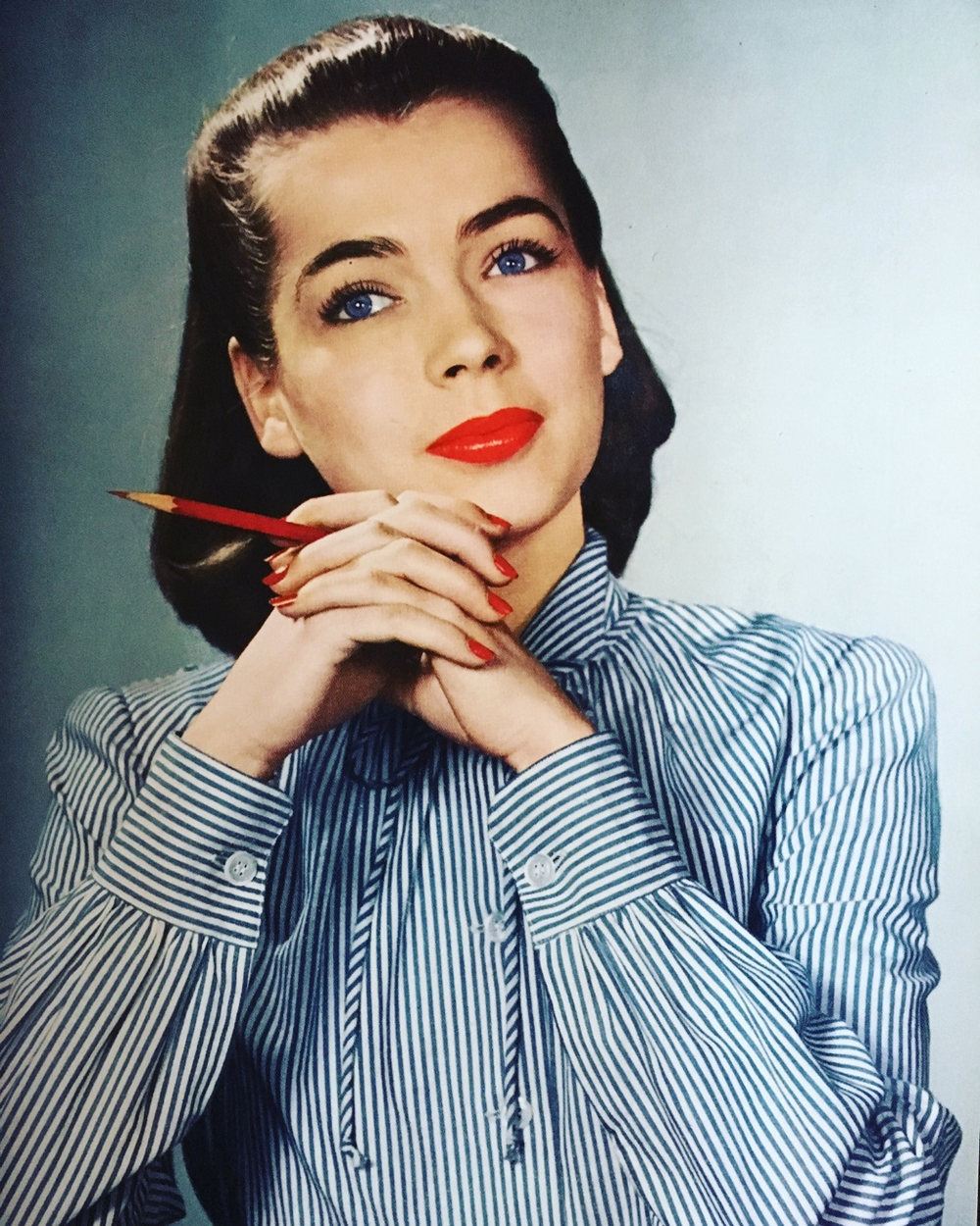 Mademoiselle. May 1943. Look sharp.