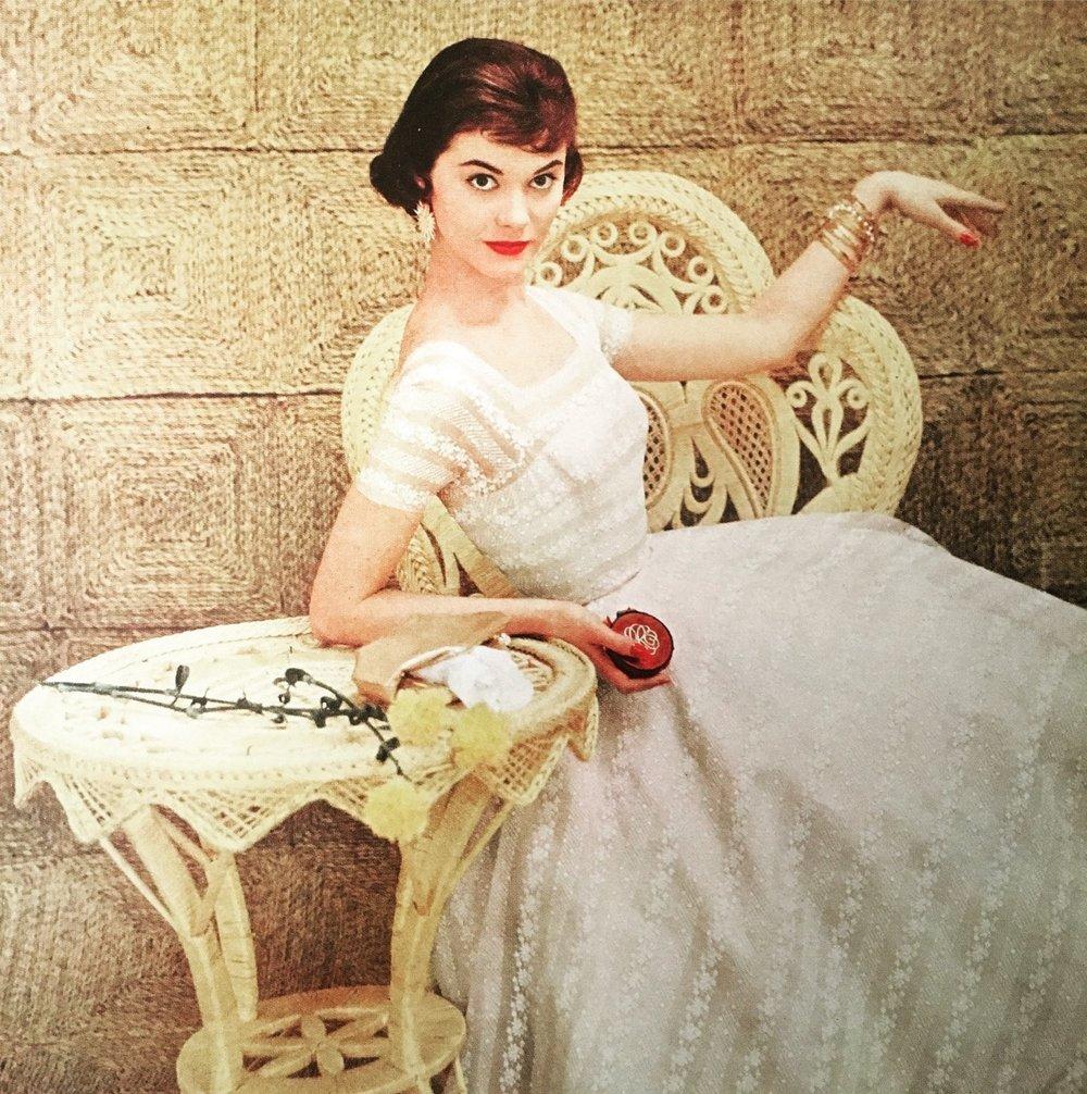 Mademoiselle. May 1955.