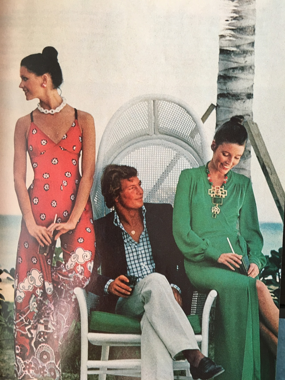 Fashion feature from Good Housekeeping. May 1973.