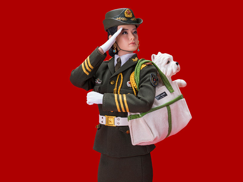 THE PEOPLES ARMY GOES SHOPPING -