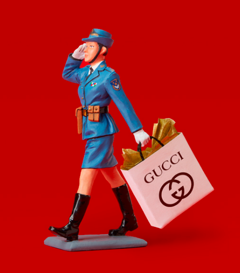 THE PEOPLE'S LIBERATION ARMY GOES SHOPPING (AT GUCCI)