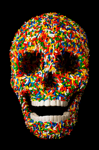 MAKE-BELIEVE DAMIEN HIRST FOR THE LOVE OF GOD
