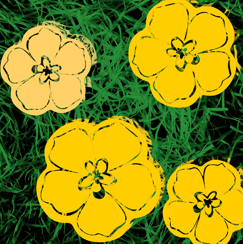 MAKE-BELIEVE ANDY WARHOL FLOWERS